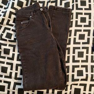 Lee Vintage black wash high waist jeans - size 26
